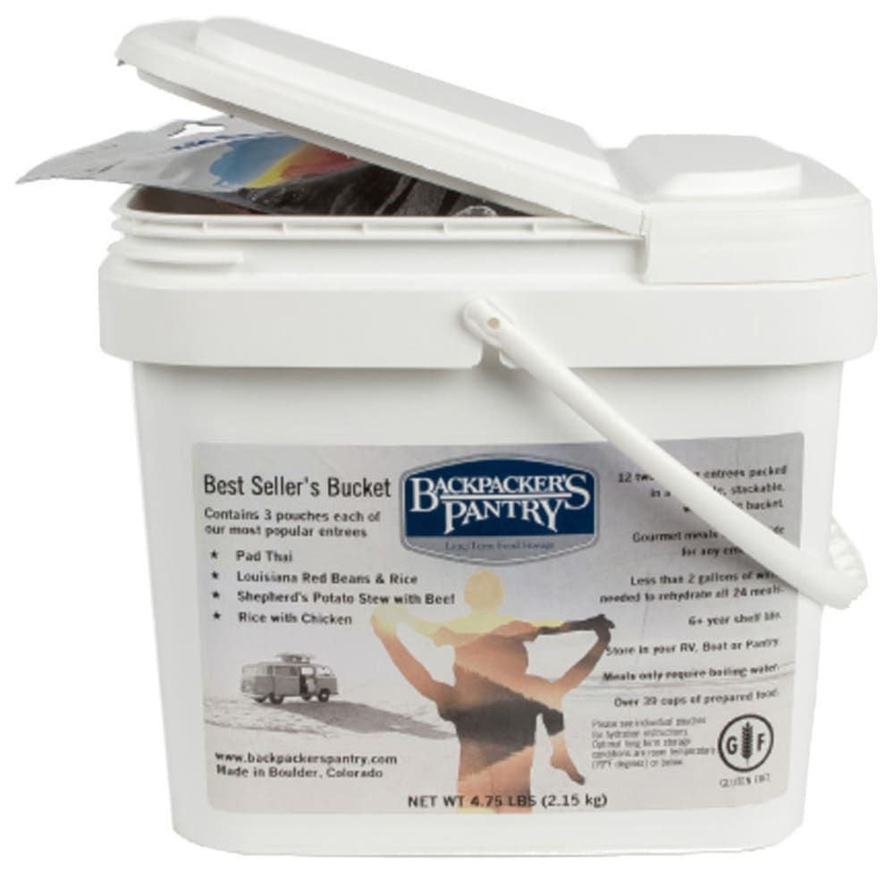 BACKPACKER'S PANTRY Best Seller's Bucket - NO COLOR