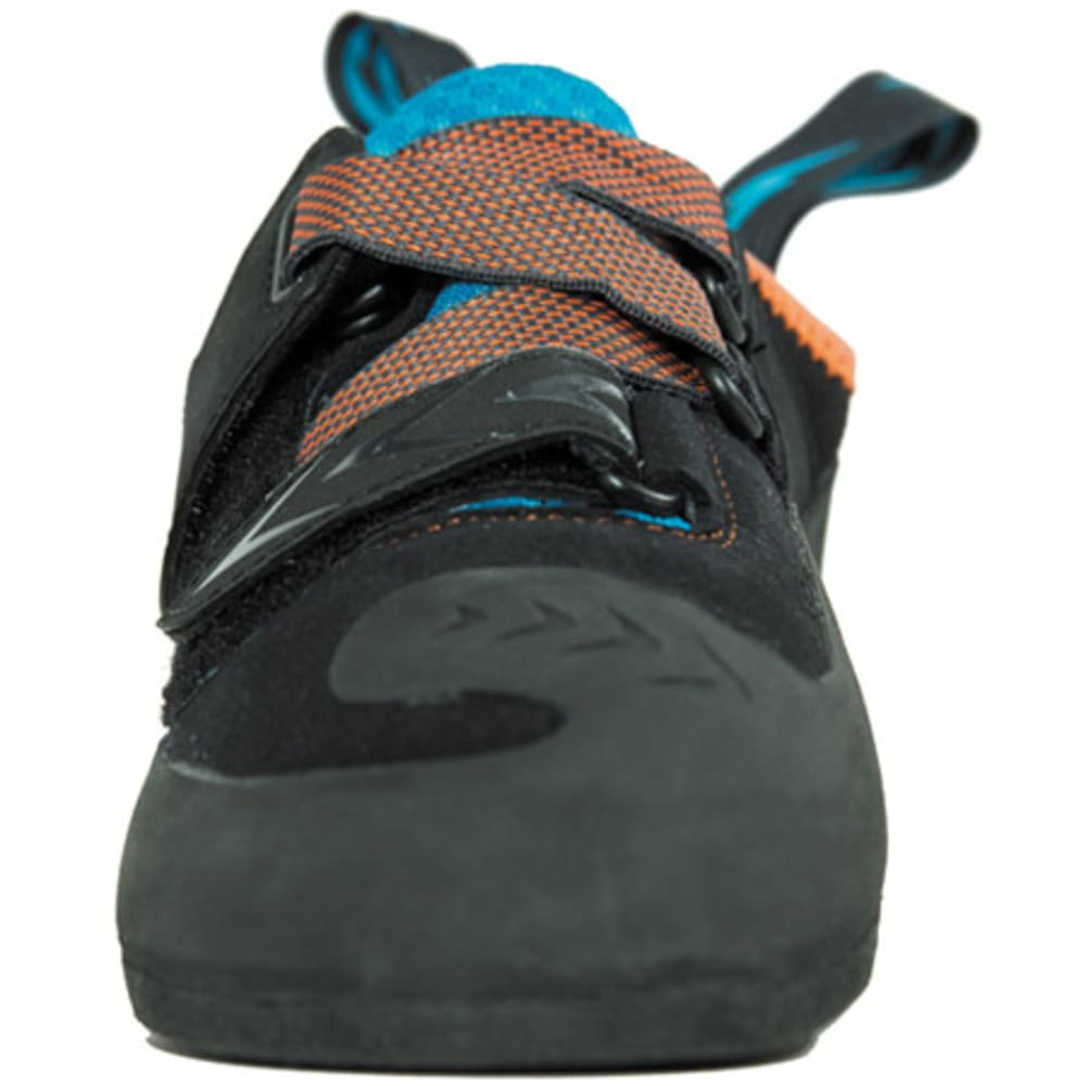 EVOLV Men's Kronos Climbing Shoes - BLACK/ORANGE
