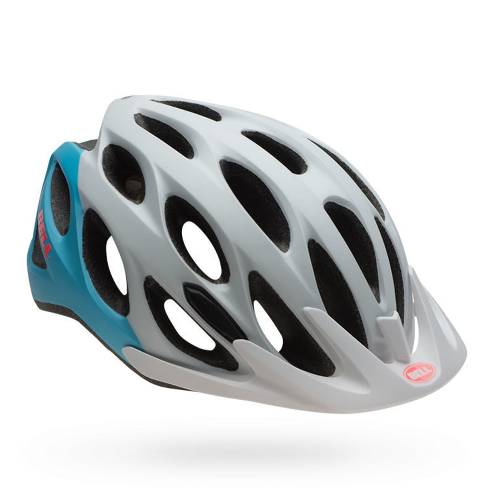 BELL Coast Bike Helmet - MATTE WHITE/BLUE