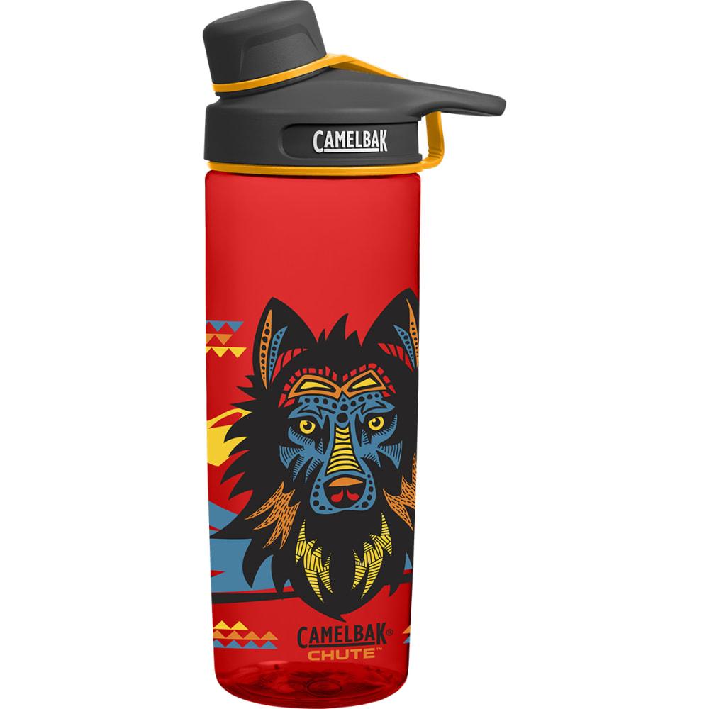 CAMELBAK Kids' Chute .6L Graphic Water Bottle - WOLF