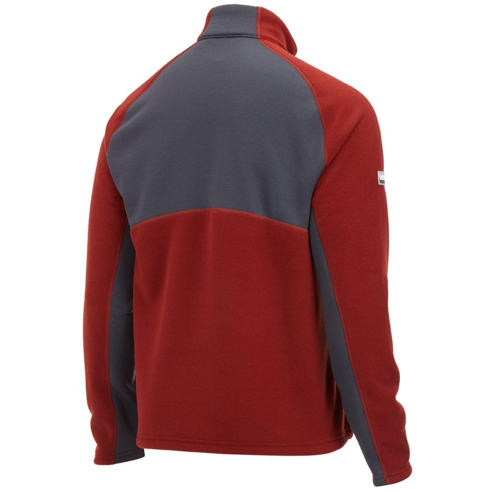 EMS® Men's Divergence Full-Zip Jacket - FIRED BRICK/EBONY