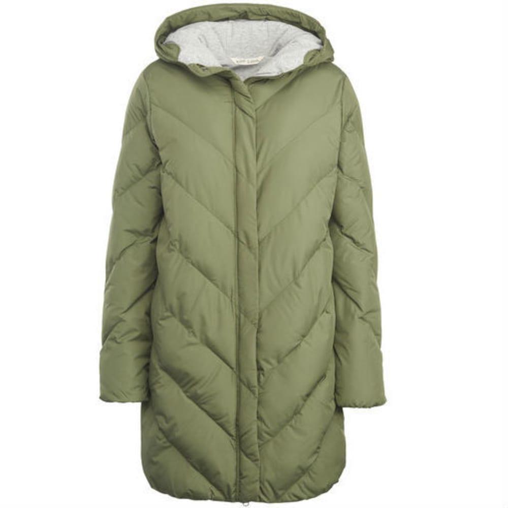 WOOLRICH Women's Cozy Crest Hooded Jacket - EUCALYPTUS