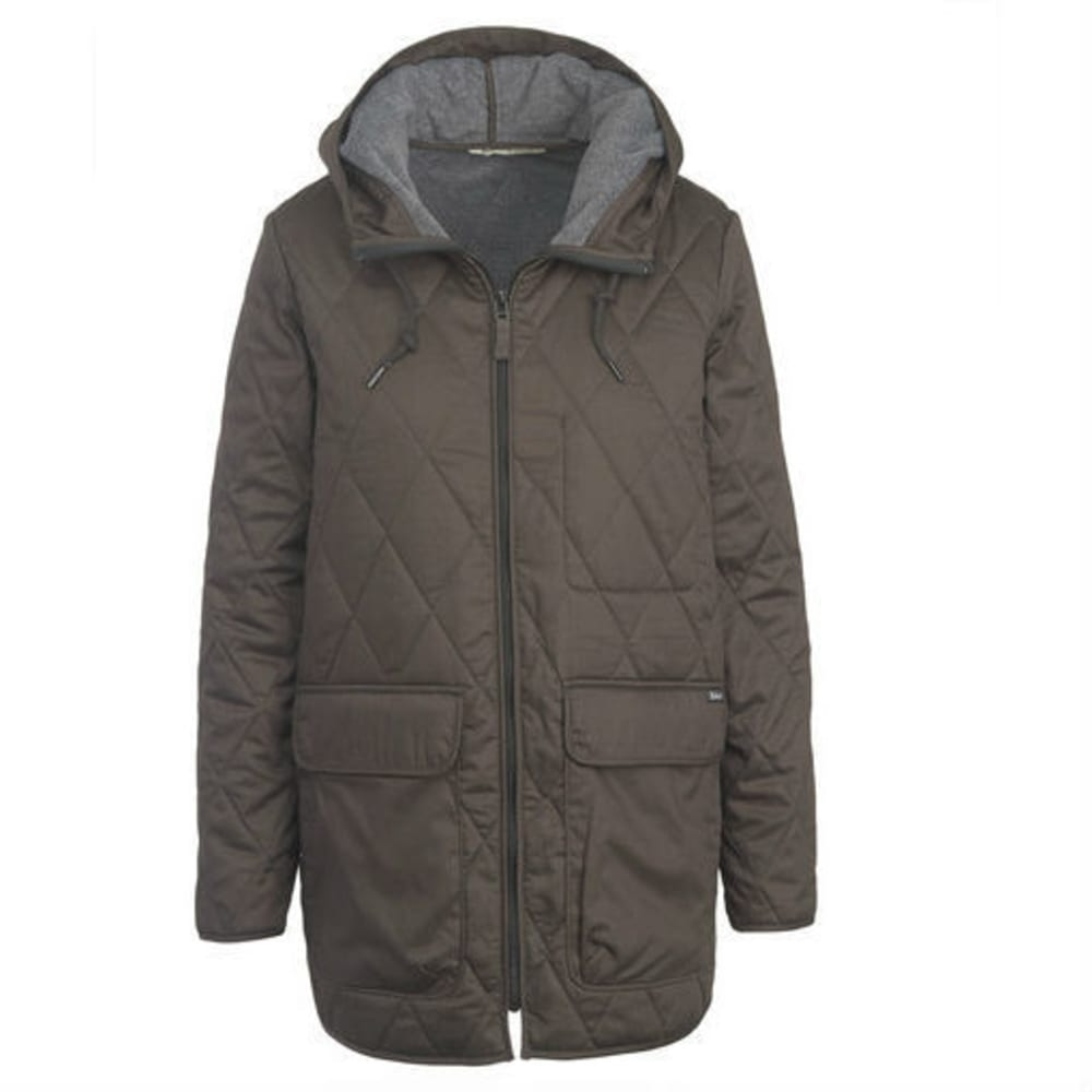WOOLRICH Women's Keepsake Quilted Insulated Parka - MATTE GRAY