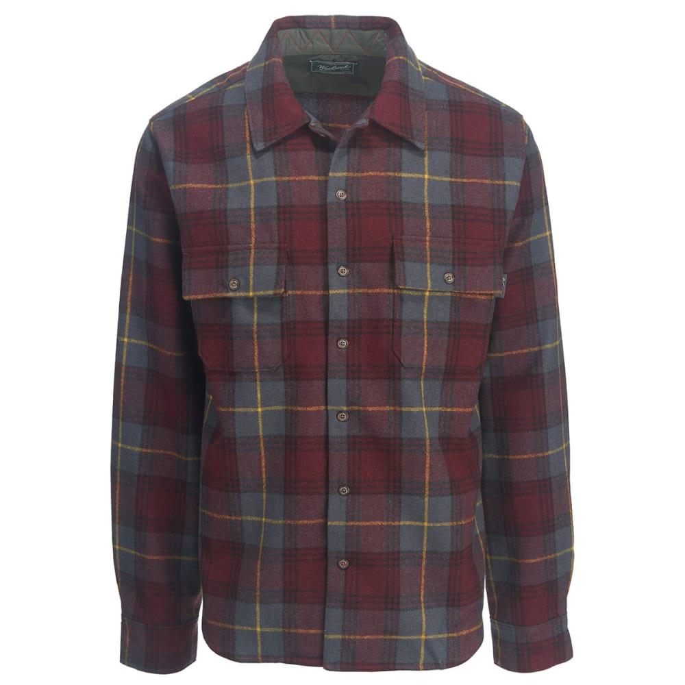 WOOLRICH Men's Bering Wool Shirt - PORT