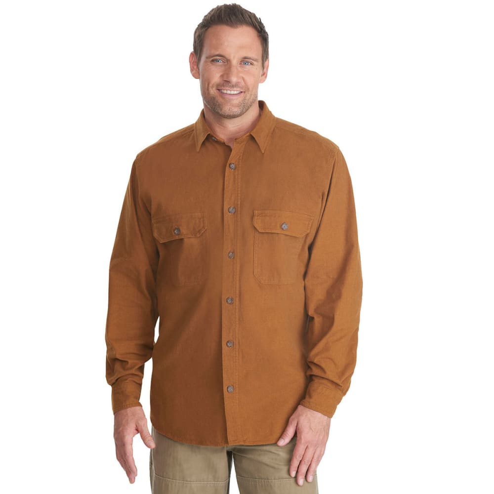 WOOLRICH Men's Expedition Chamois Shirt - CHICORY
