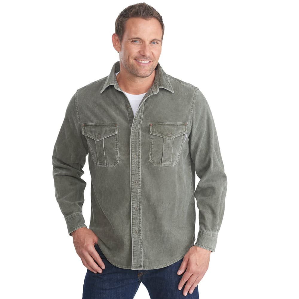 WOOLRICH Men's Hemlock Cord Shirt - DARK SHALE