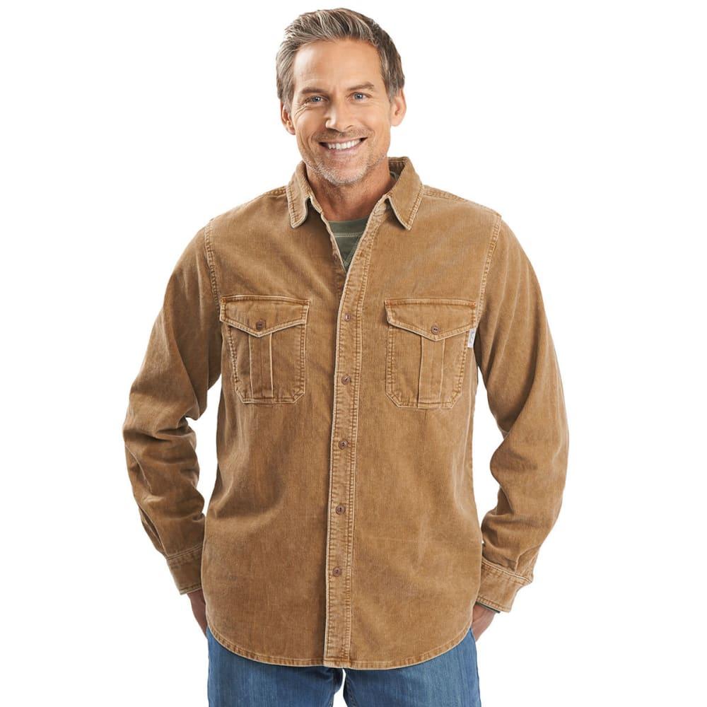 WOOLRICH Men's Hemlock Cord Shirt - CHICORY