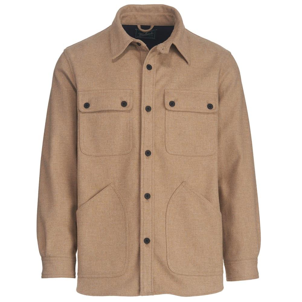 WOOLRICH Men's West Ridge Shirt Jac - WHEAT HEATHER
