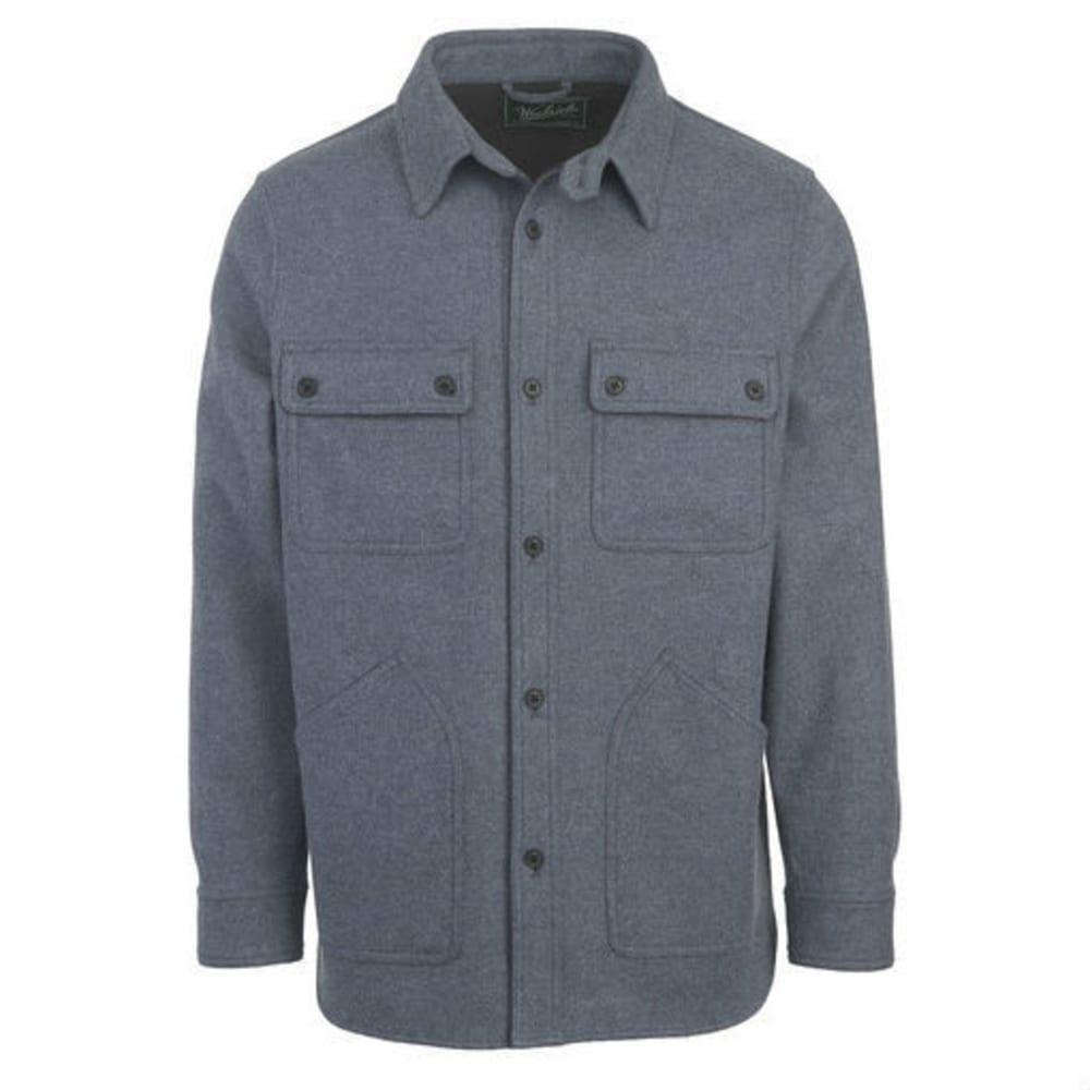 WOOLRICH Men's West Ridge Shirt Jac - COBALT HEATHER