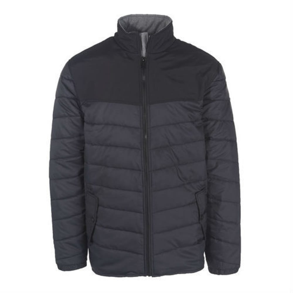 WOOLRICH Men's Wool Loft Insulated Jacket - MATTE GRAY