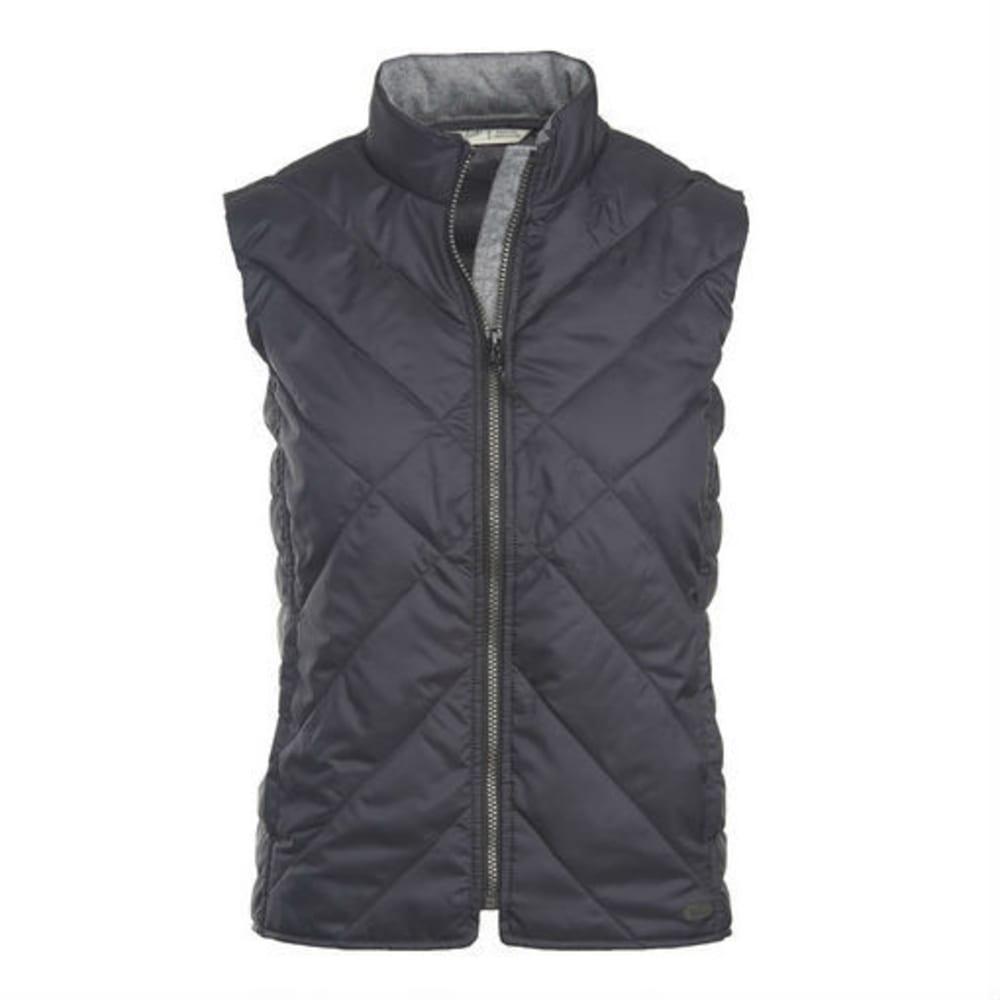 WOOLRICH Women's Wool Insulated Vest - BLACK