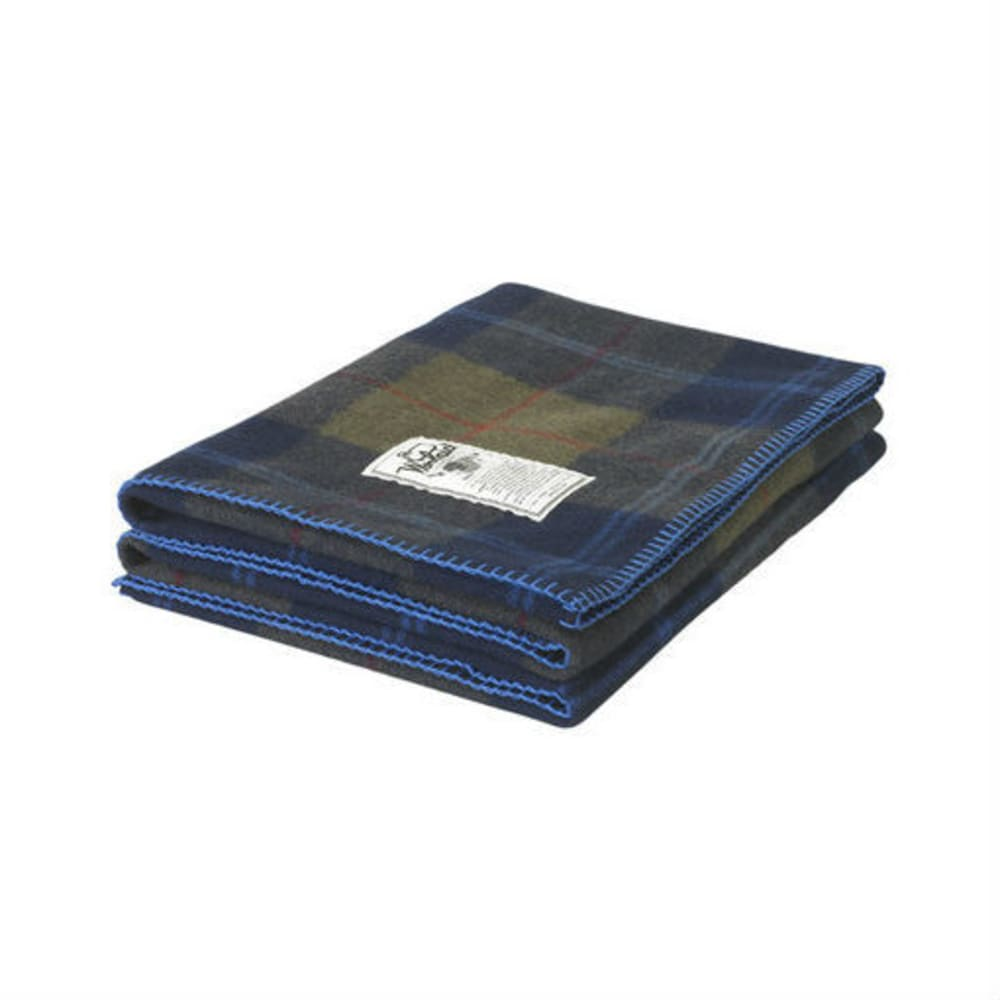 WOOLRICH Rough Rider Plaid Blanket - OLIVE PLAID