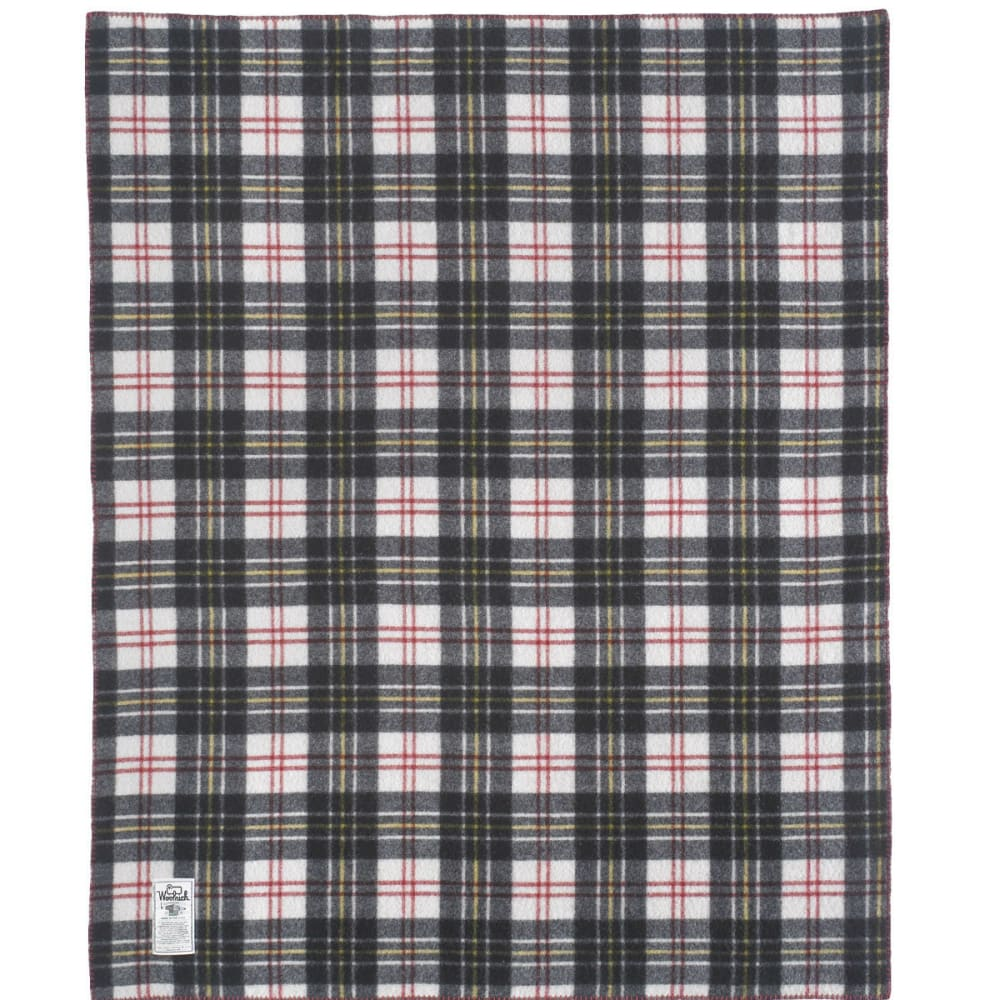 WOOLRICH Rough Rider Plaid Blanket - MULTI PLAID