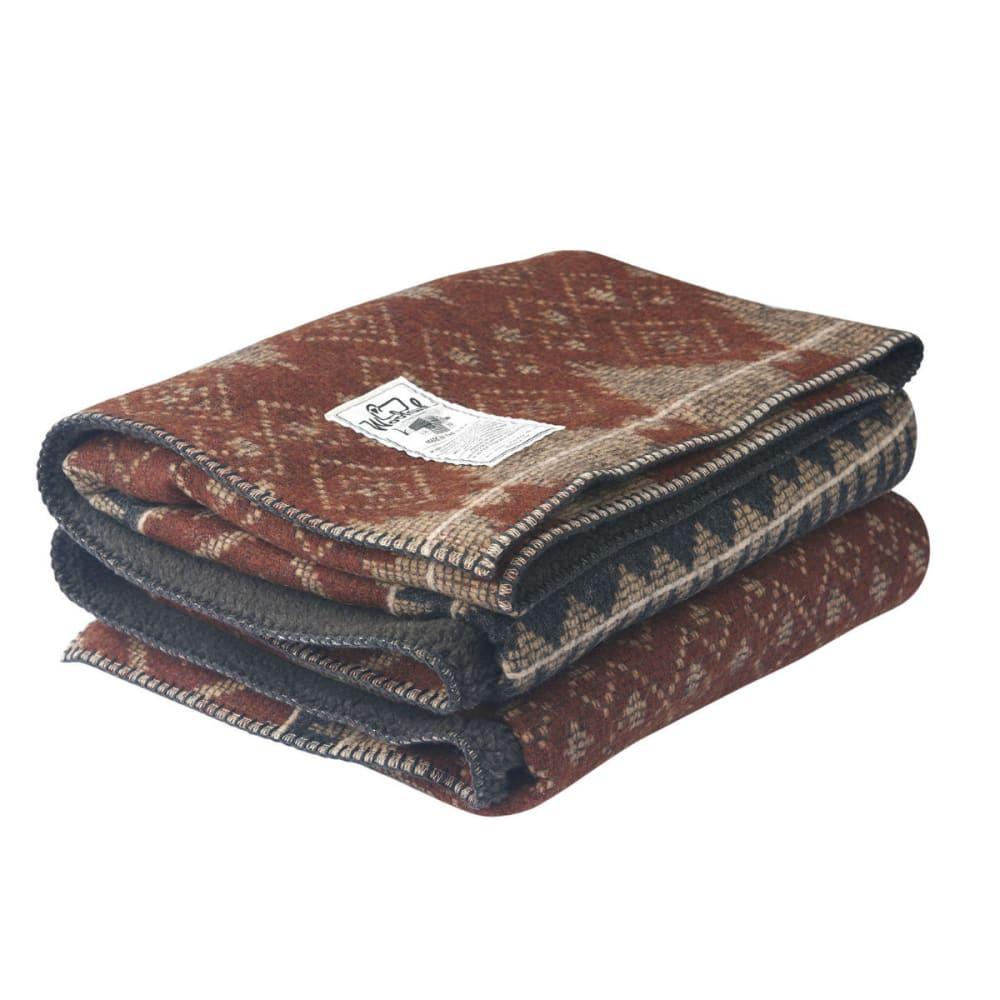 Woolrich Sherpa Wellsboro Throw Blanket 50x68 Eastern