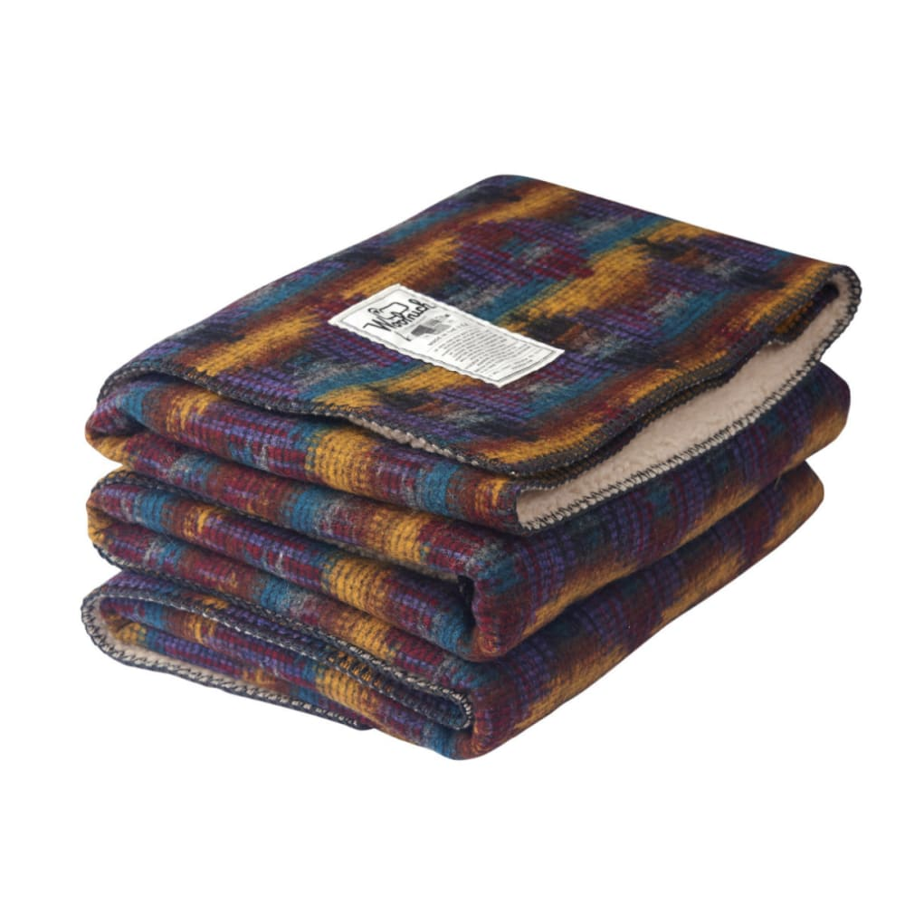 WOOLRICH Sherpa Wellsboro Throw Blanket 50x68 - MULTI