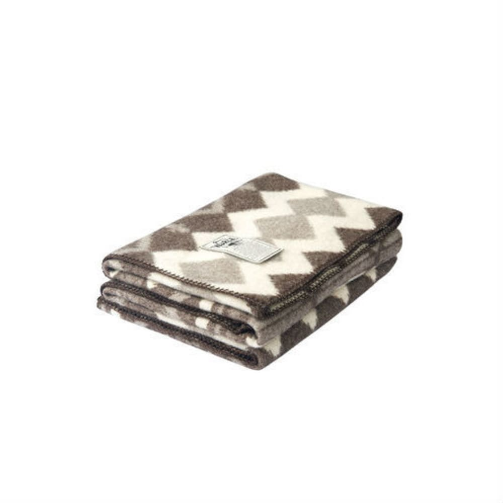 WOOLRICH Eco-Rich™ Somerton Jacquard Wool Blanket - NATURAL