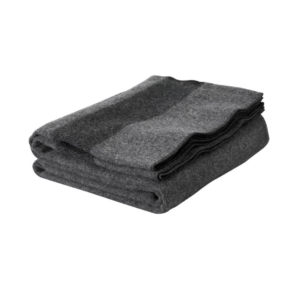 WOOLRICH Civil War Gettysburg Wool Blanket - GREY