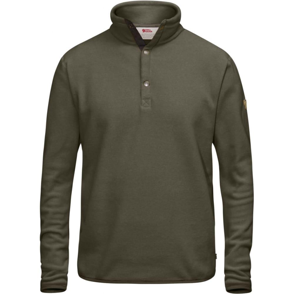 FJÄLLRÄVEN Men's Övik Fleece Sweater - TARMAC
