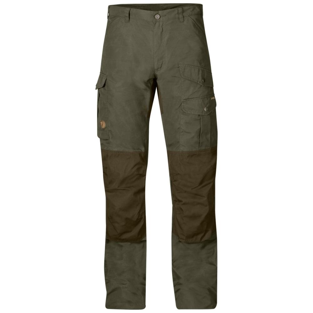 FJALLRAVEN Men's Barents Pro Trousers - TARMAC/DARK OLIVE
