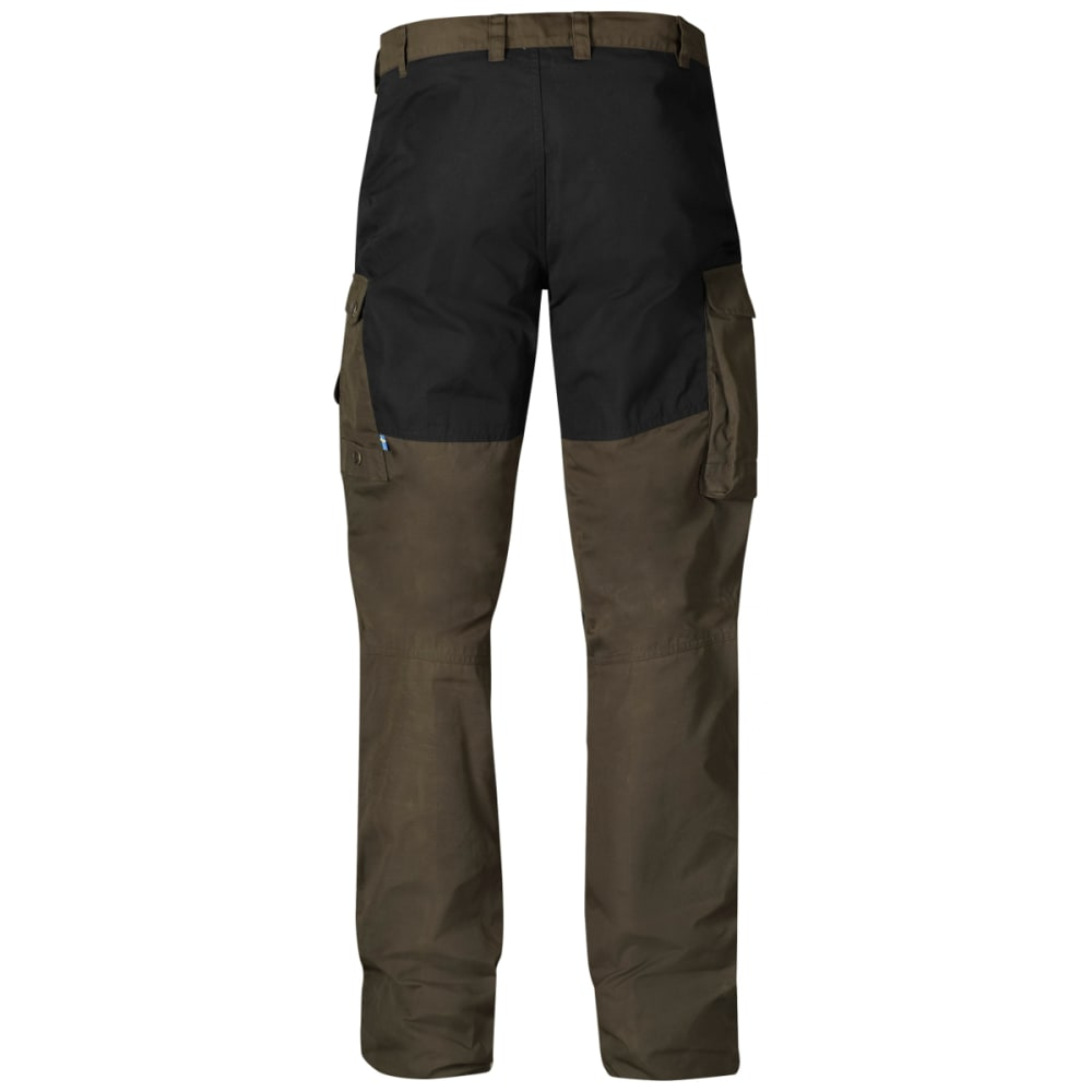FJALLRAVEN Men's Barents Pro Trousers - DARK OLIVE/BLACK