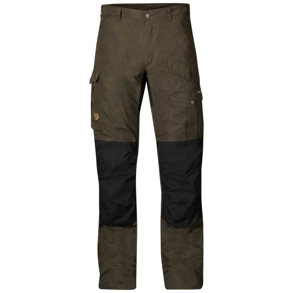 FJALLRAVEN Men's Barents Pro Trousers - DARK OLIVE/BLACK