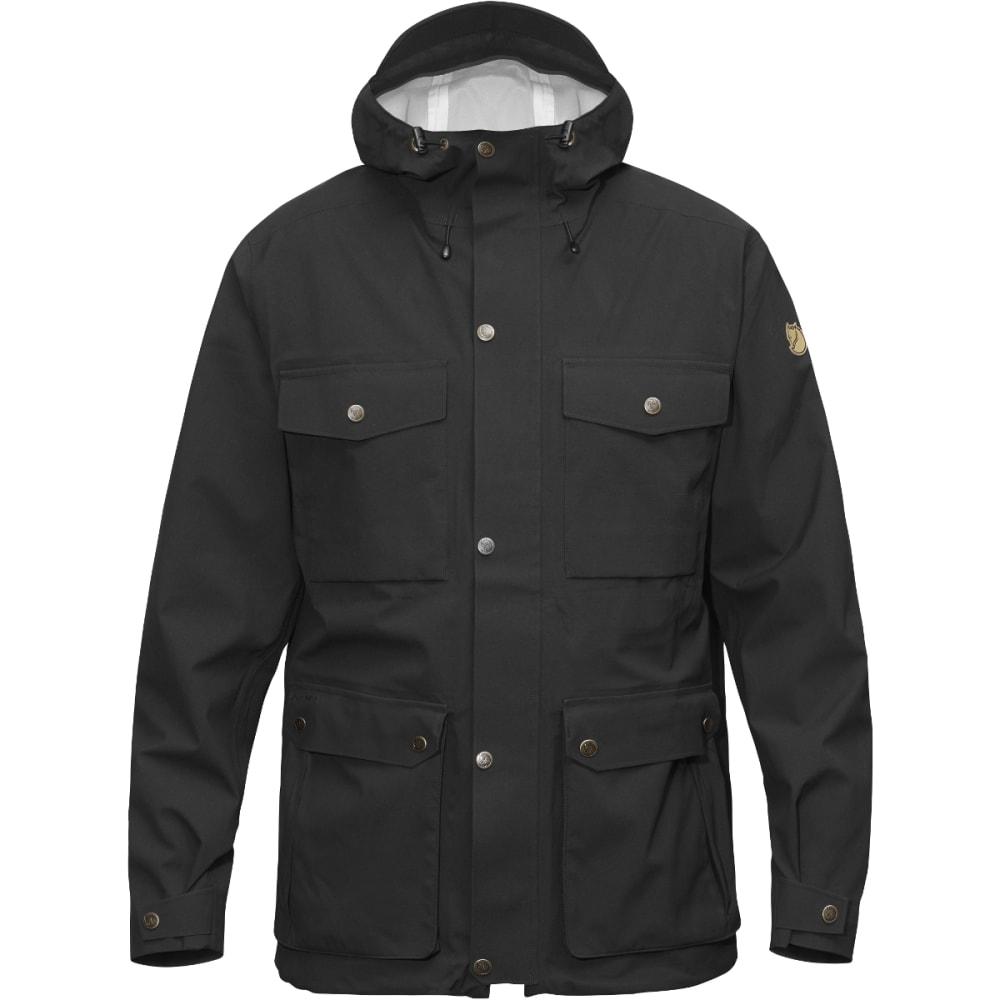 FJALLRAVEN Men's Ovik Eco-Shell Jacket - BLACK