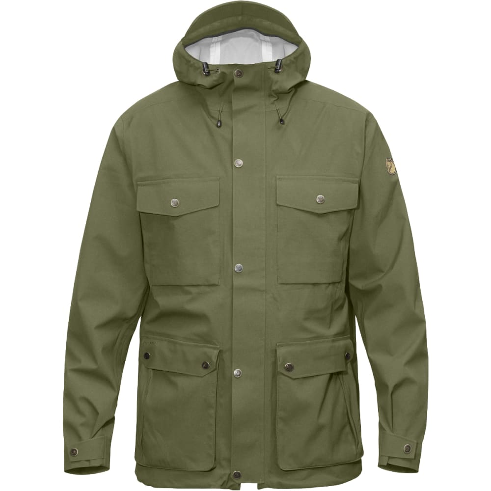 FJALLRAVEN Men's Övik Eco-Shell Jacket - GREEN