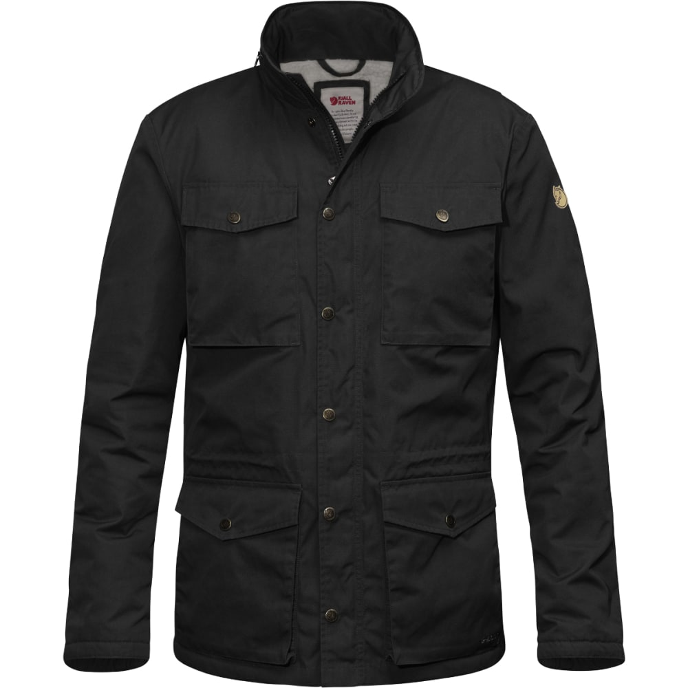 FJALLRAVEN Men's Räven Winter Jacket - BLACK