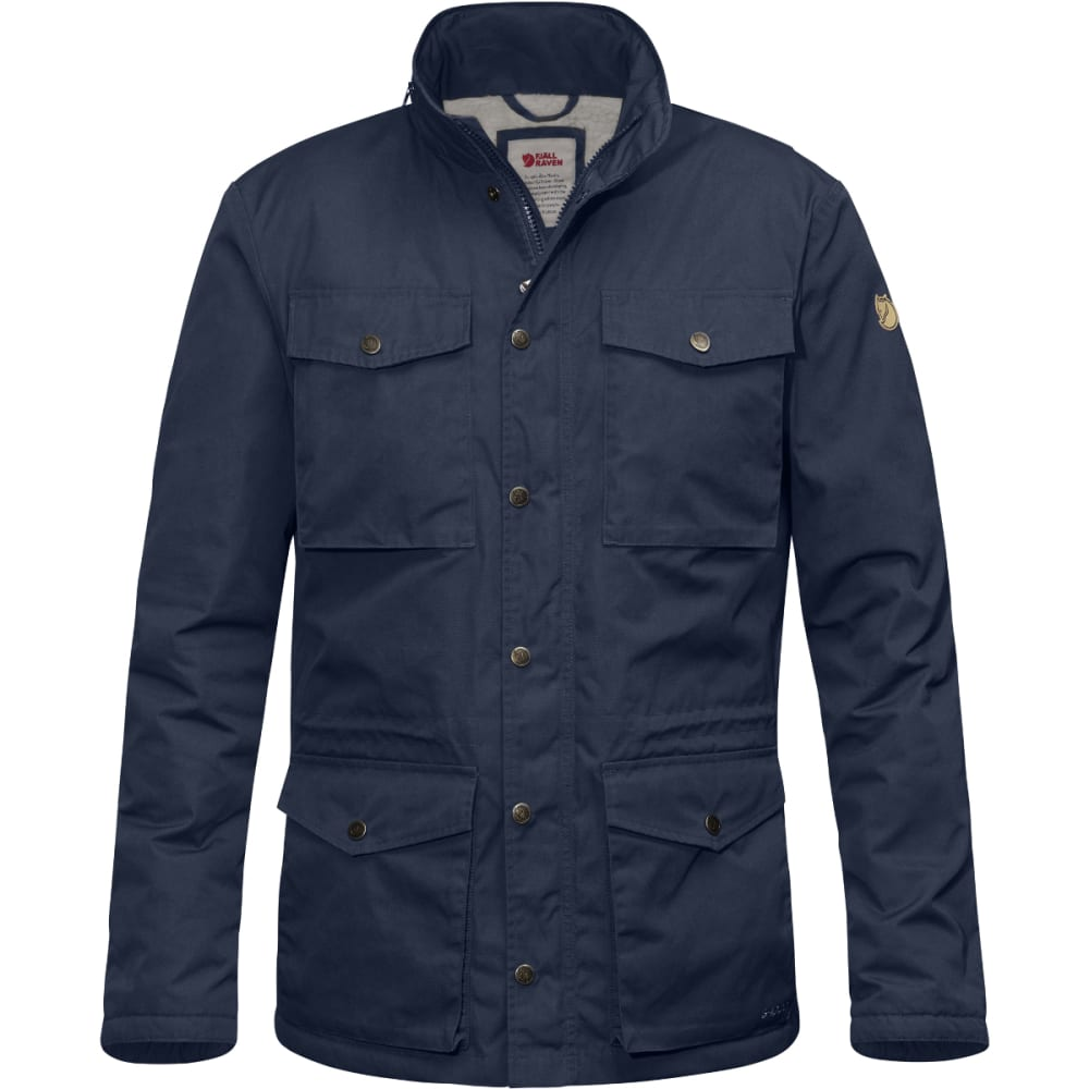 FJALLRAVEN Men's Raven Winter Jacket - DARK NAVY