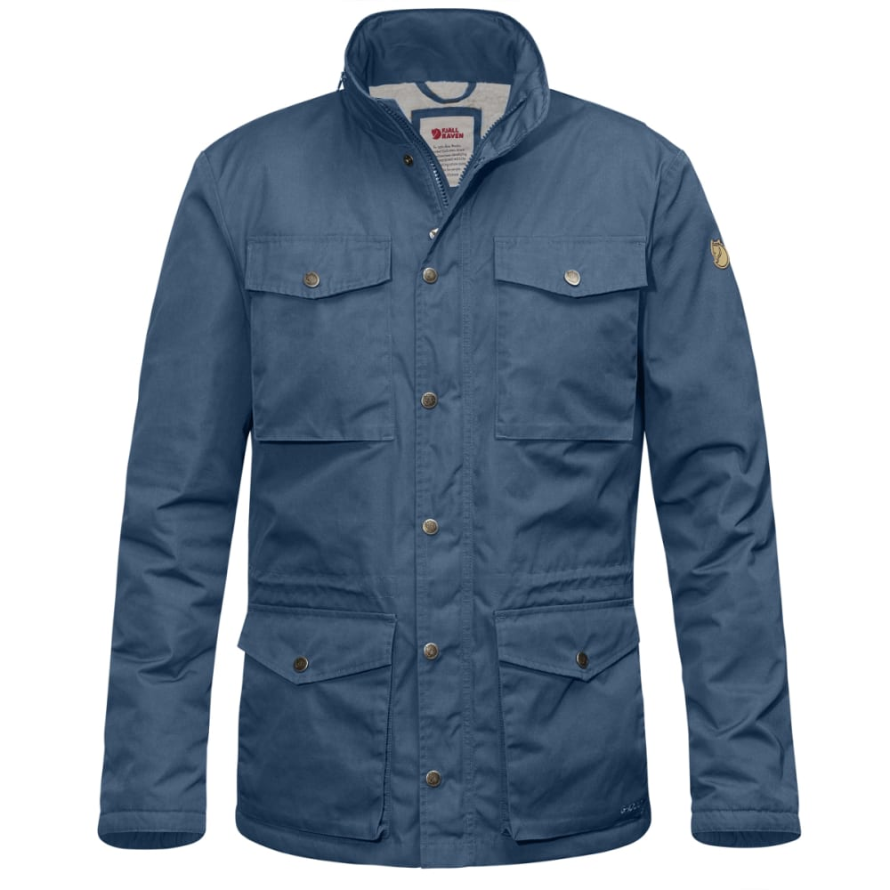 FJALLRAVEN Men's Raven Winter Jacket - UNCLE BLUE