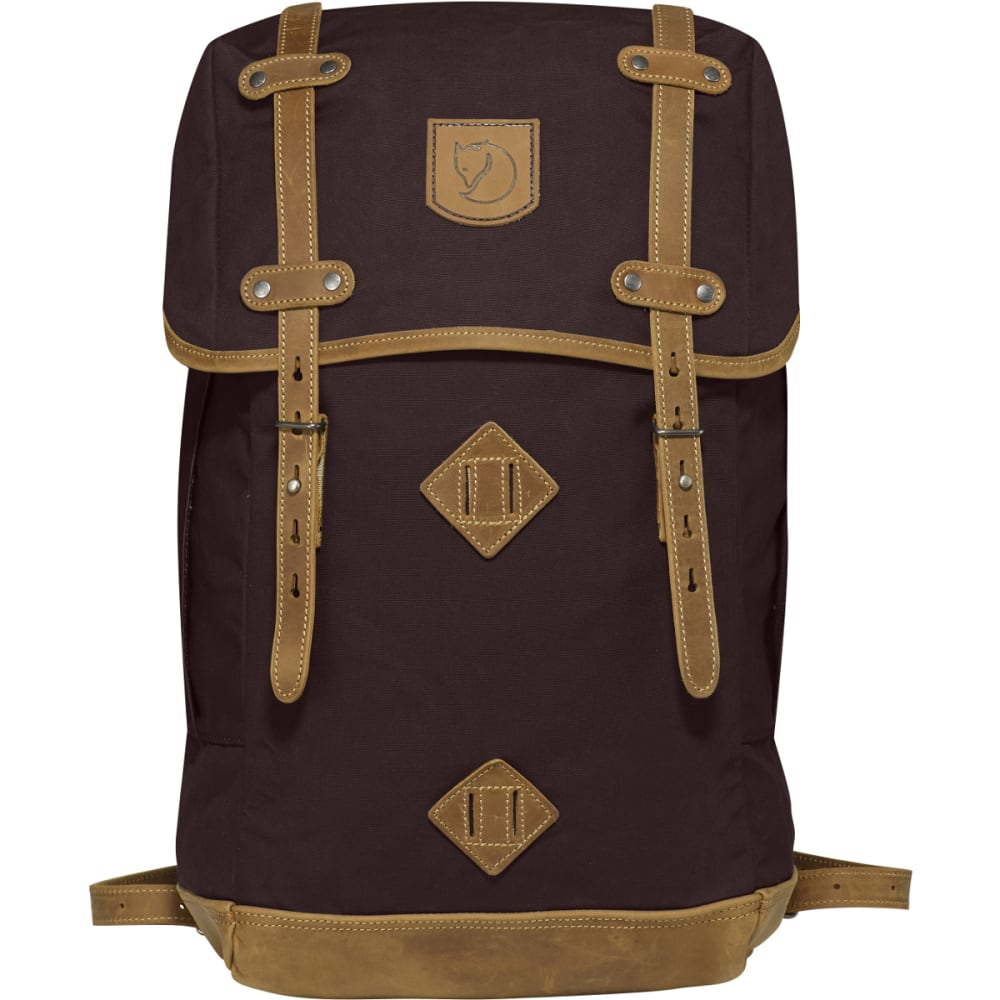 FJALLRAVEN Rucksack No. 21 Large  - HICKORY BROWN