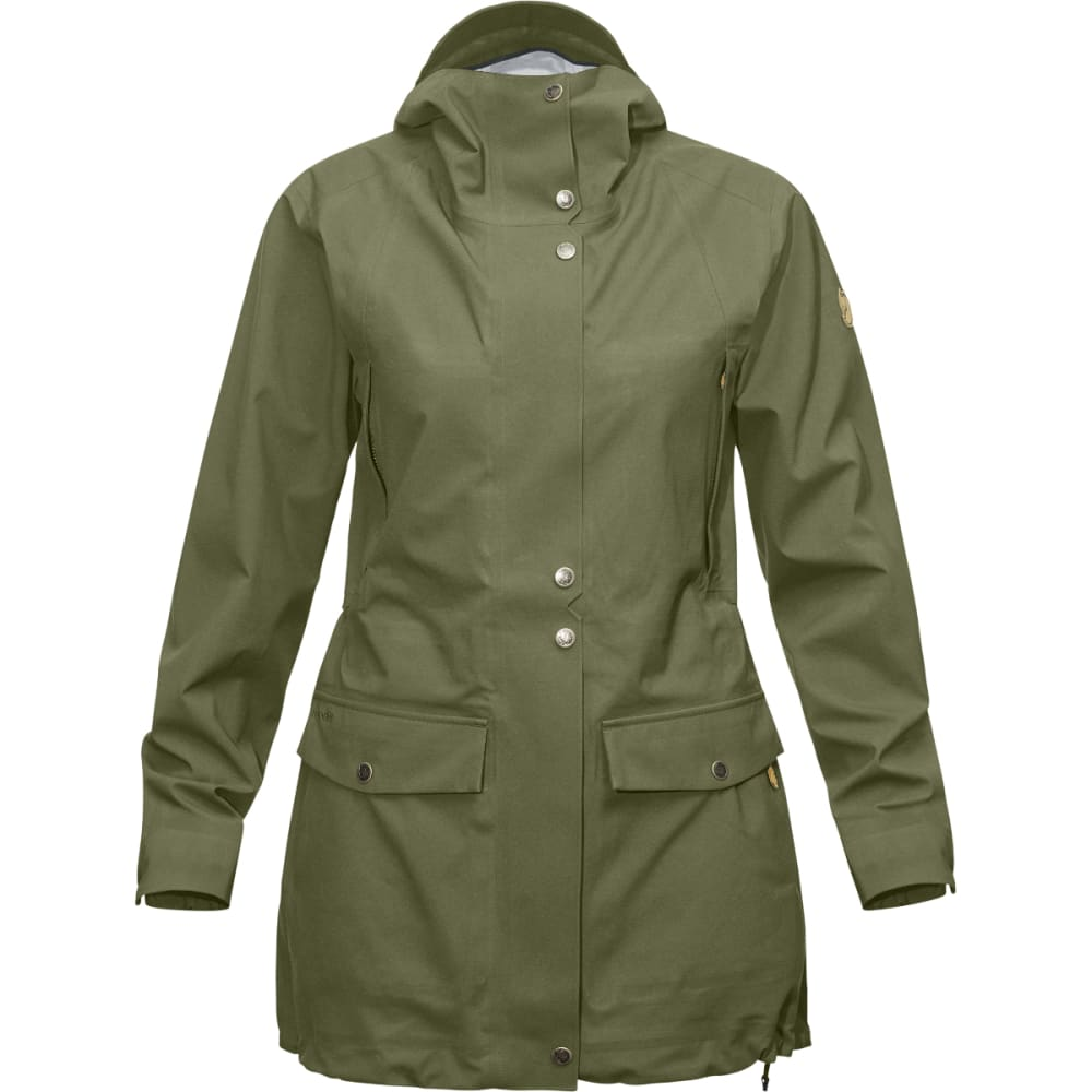 FJALLRAVEN Women's Övik Eco-Shell Parka - GREEN
