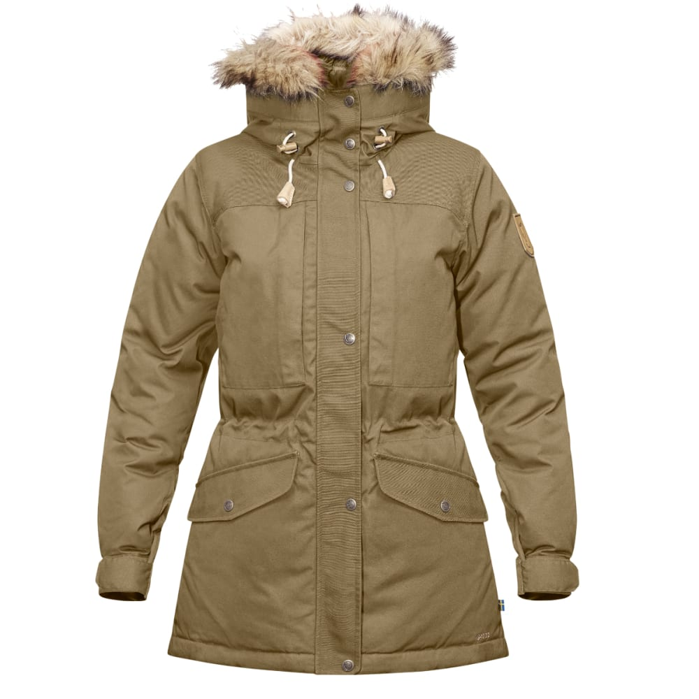 FJALLRAVEN Women's Singi Down Jacket - SAND