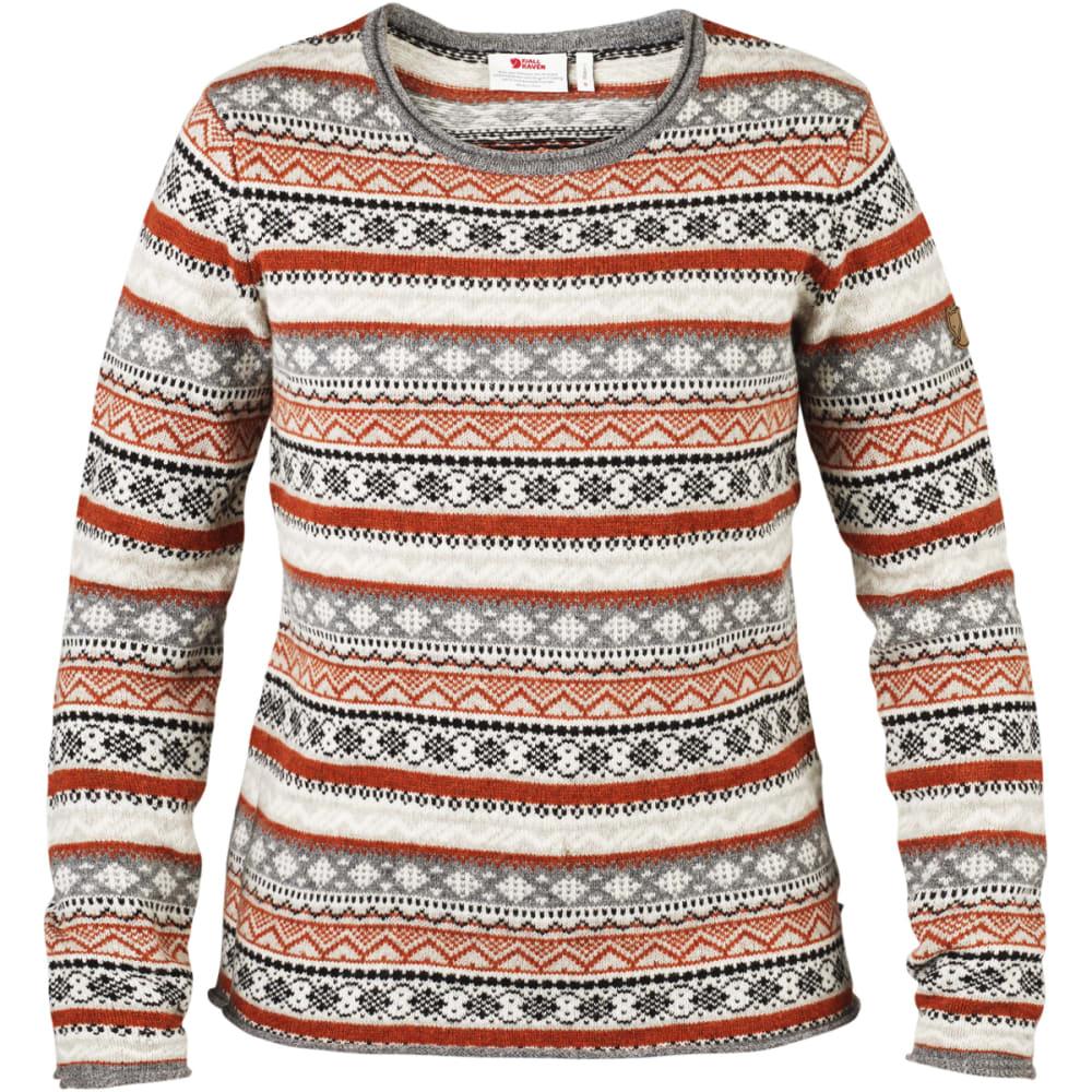 FJALLRAVEN Women's Ovik Folk Knit Sweater - FOG