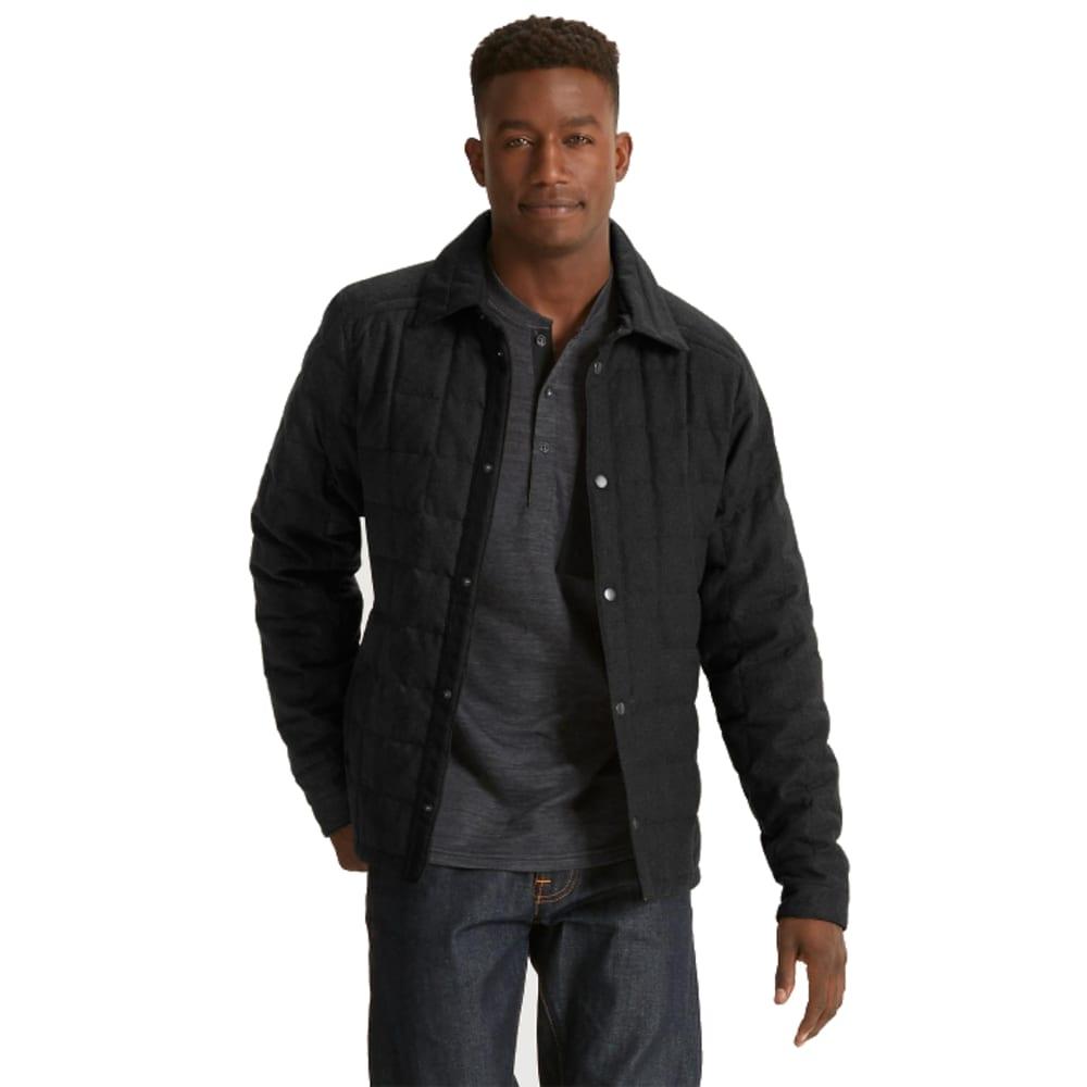 NAU Men's Wool Down Jacket - CAVIAR