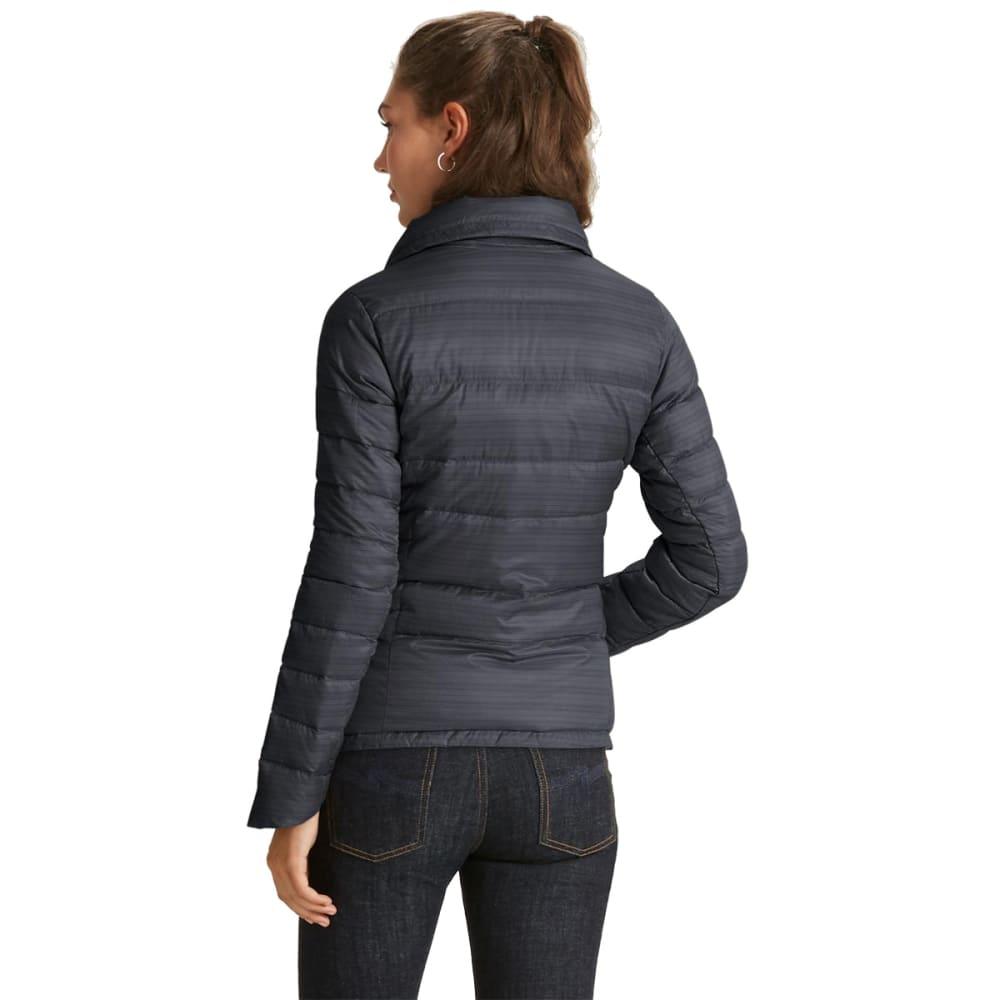 NAU Women'sImperial Down Jacket - CAVIAR STRIPE