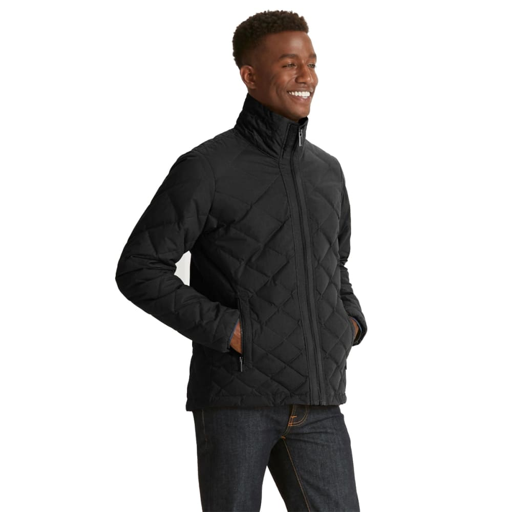 NAU Men'sIntersect Utility Down Sweater - CAVIAR