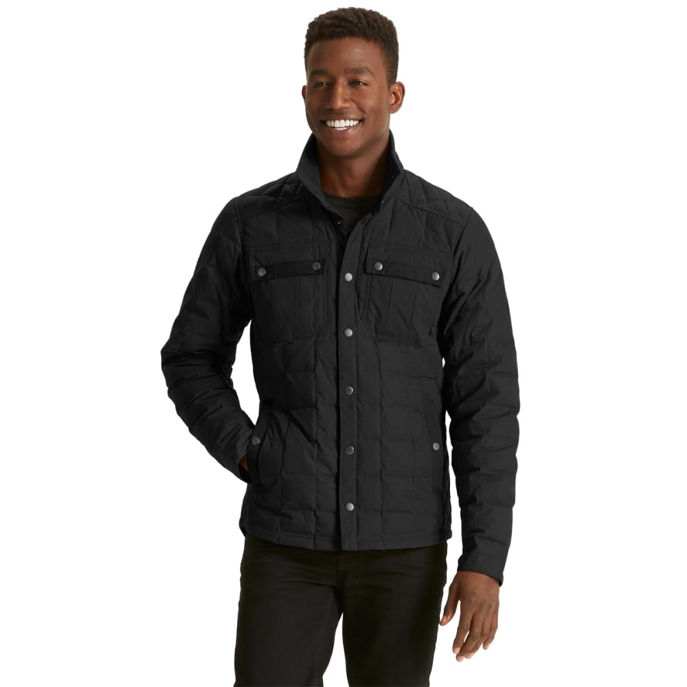 NAU Men's Utility Down Shirt  - CAVIAR