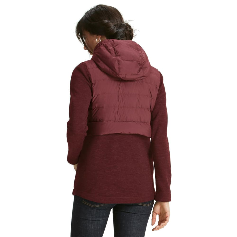 NAU Women's Randygoat Down Hoody - REDWOOD