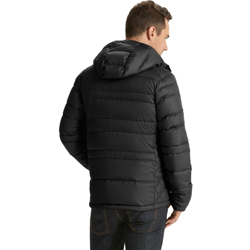NAU Men's Drop Down Hoody Jacket - CAVIAR