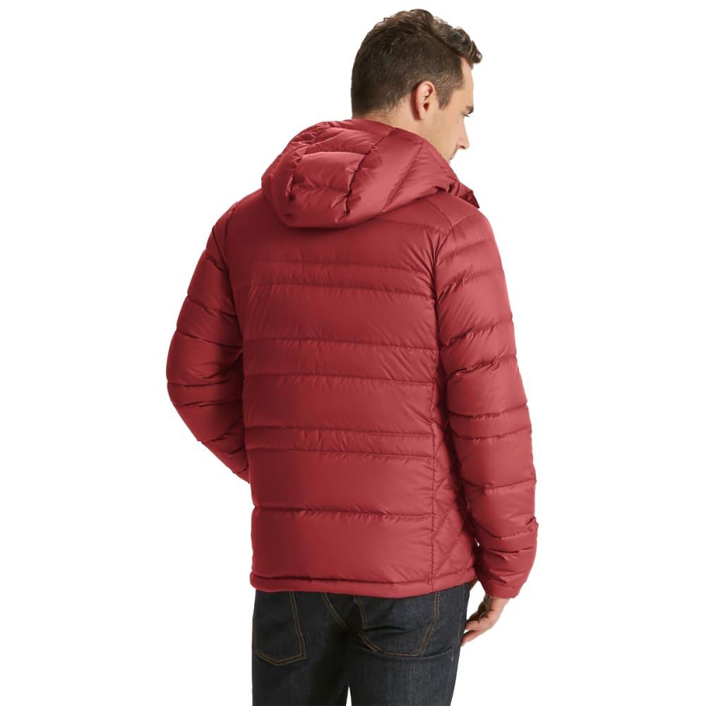 NAU Men's Drop Down Hoody Jacket - POMEGRANATE