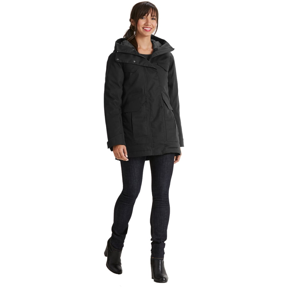 NAU Women'sOslo Down Jacket - CAVIAR