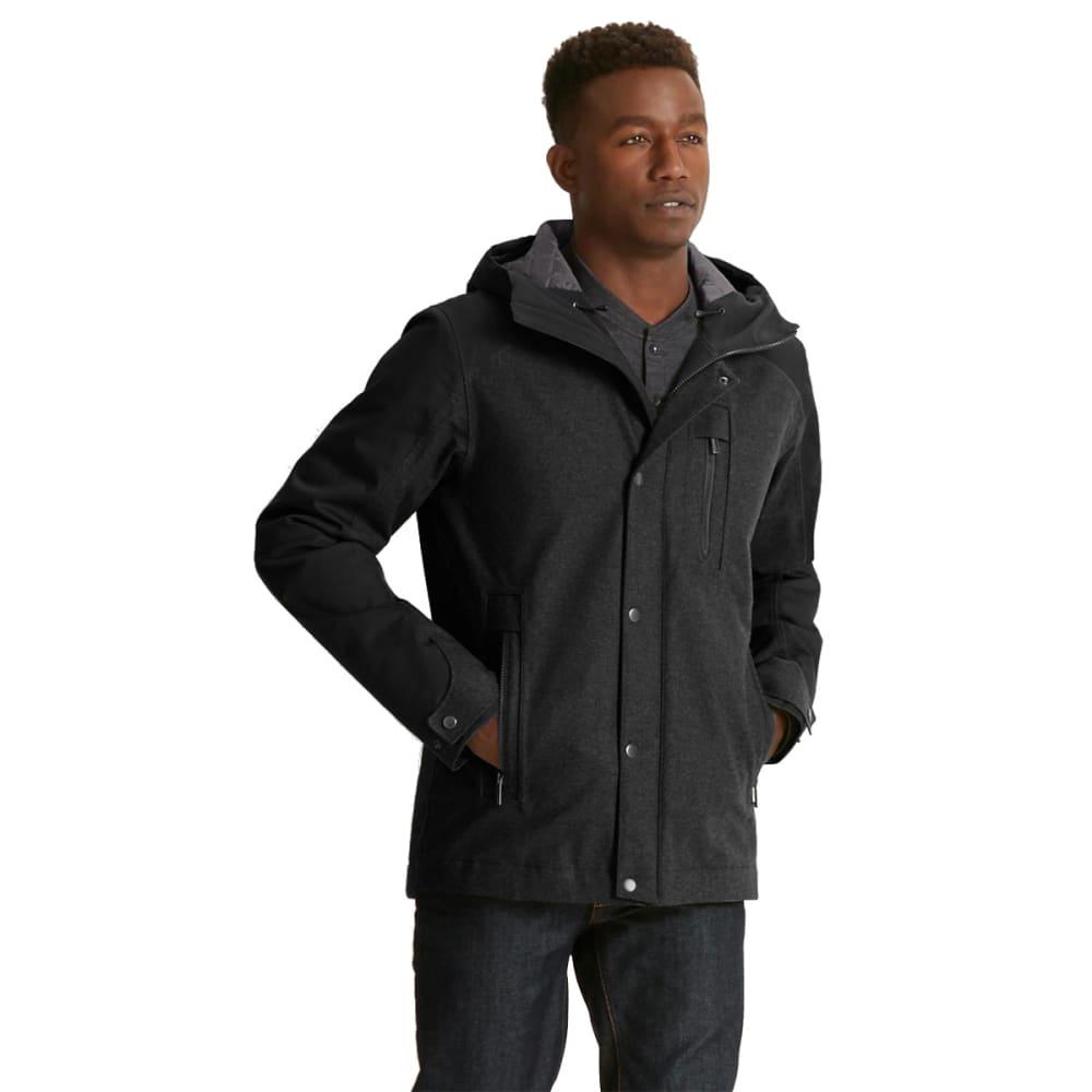 NAU Men's Prato Wool Synfill Jacket - CAVIAR HEATHER