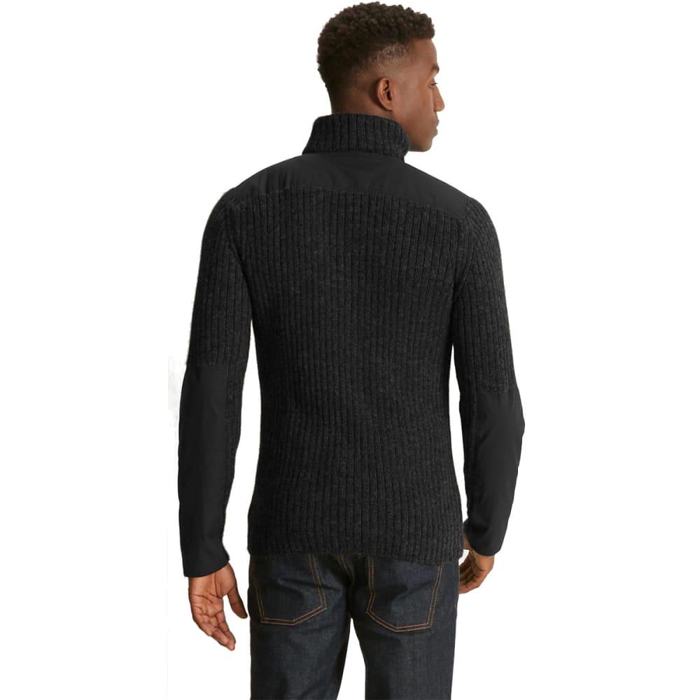 NAU Men's Nazca Alpaca Sweater  - CAVIAR HEATHER