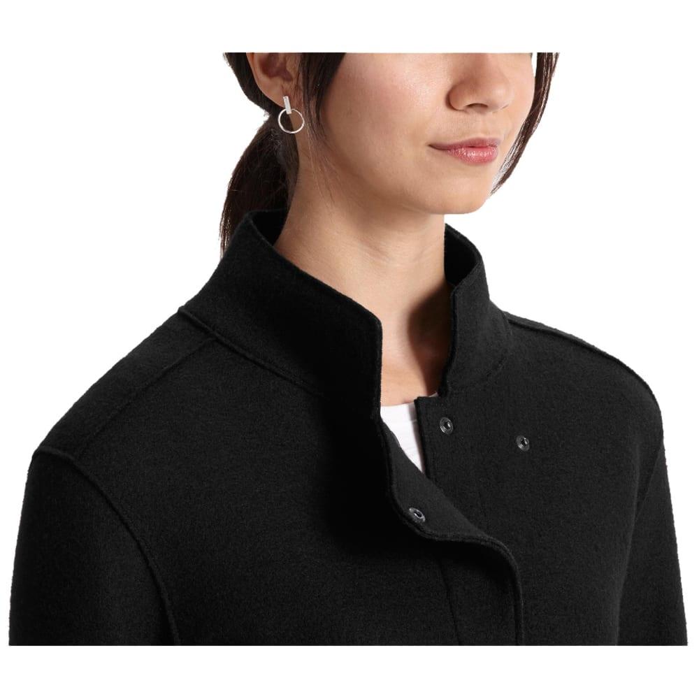NAU Women's Felt Up Shirt - CAVIAR