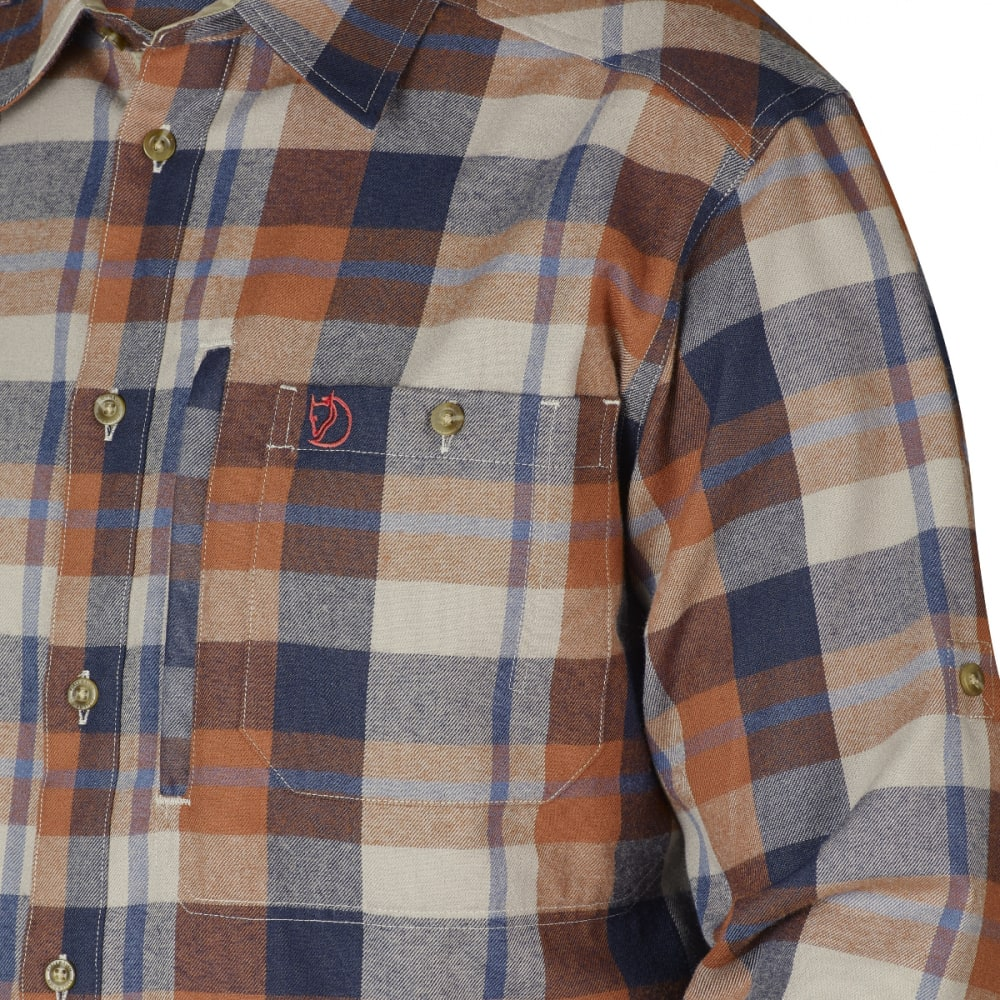 FJÄLLRÄVEN Men's Fjällglim Shirt - AUTUMN LEAF