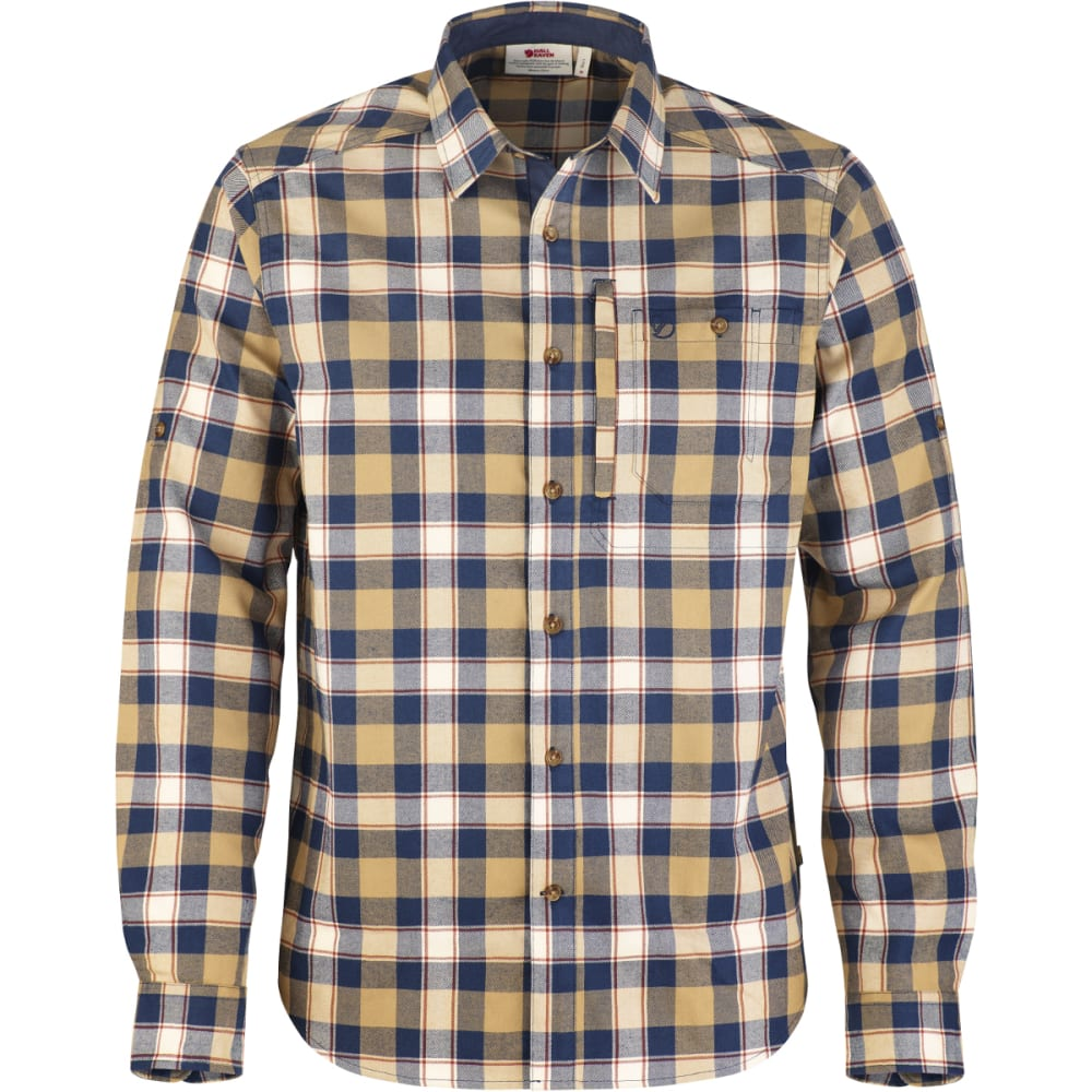 FJALLRAVEN Men's Fjallglim Shirt - BLUEBERRY