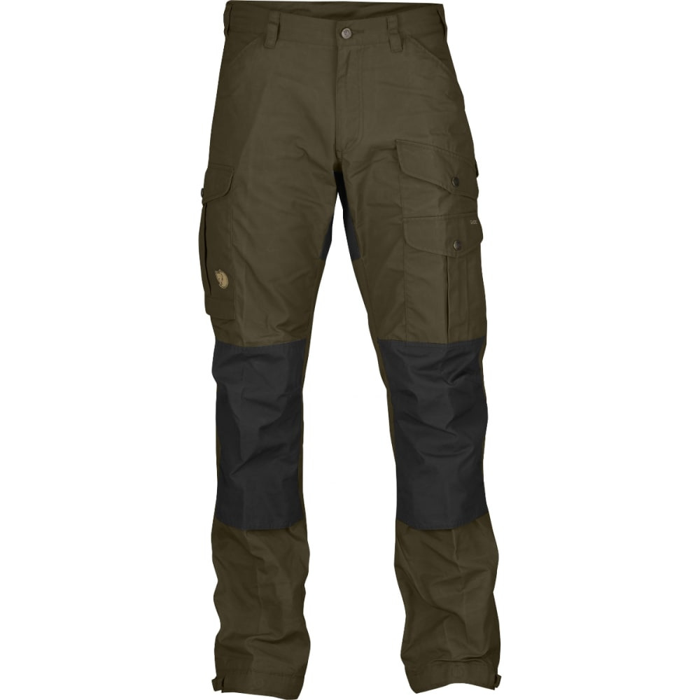 FJALLRAVEN Men's Vidda Pro Trousers - DARK OLIVE/BLACK