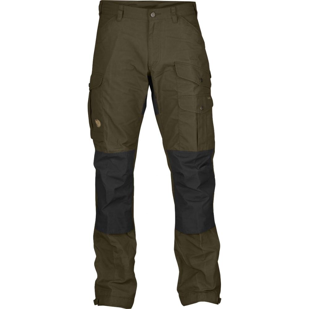 FJALLRAVEN Men's Vidda Pro Trousers - DARK OLIVE/BLACK