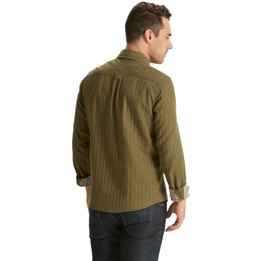 NAU Men's Shadow Box Long Sleeve Shirt - FROND PLAID